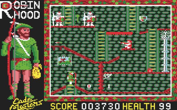 """The game """"Super Robin Hood"""""""