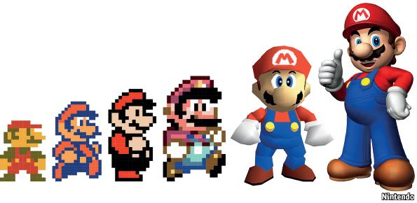 The Game Super Mario